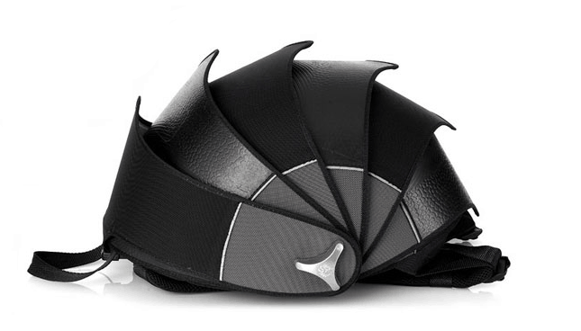 Cyclus Pangolin Backpack made of reused tyre inner tubes Recycled Material Interesting Product