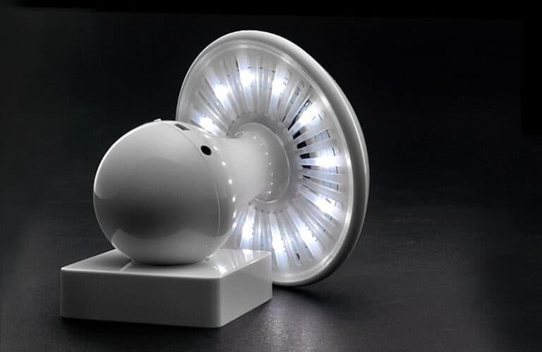 Entalent Touch Controlled Mushroom LED Lamp & Bluetooth Speaker Playful Design