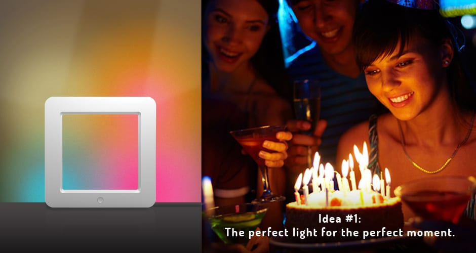 Holi The Smart Connected LED Mood Lamp Birthday Celebartion Backlight Decoration