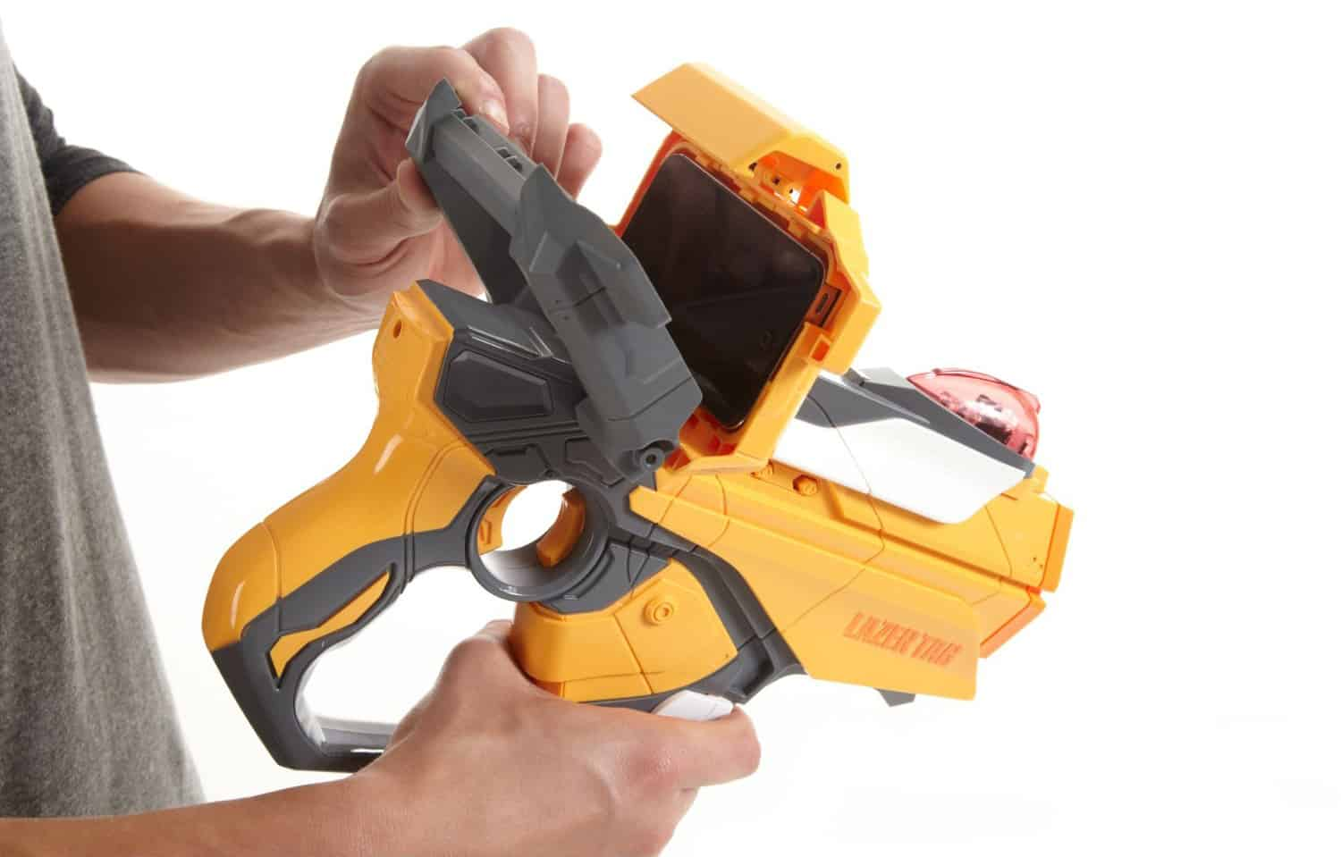 Lazer Tag Twin Pack Iphone Slot for Nerf Gun Screen
