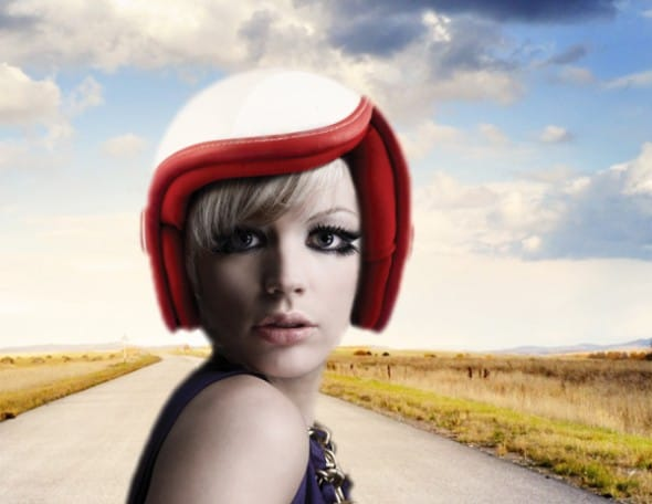 The helmet that looks as cool as a Vespa.