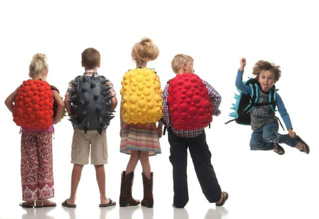 Madpax Funky Backpack Bubble Black Spiketus Rex Kids Waiting Funky School Stuff