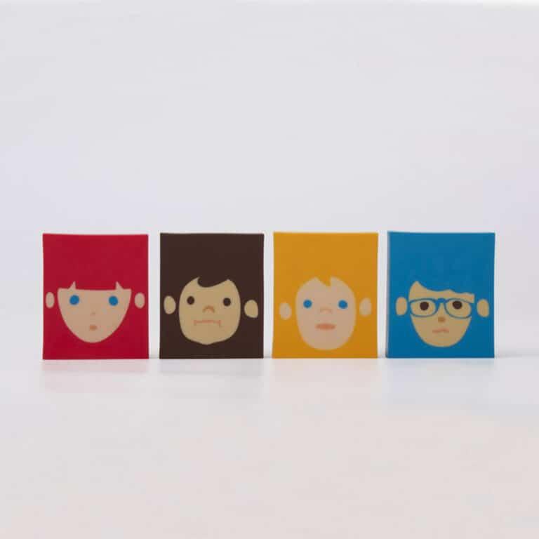 Megawing Rubber Barber Eraser Cute Novelty Item