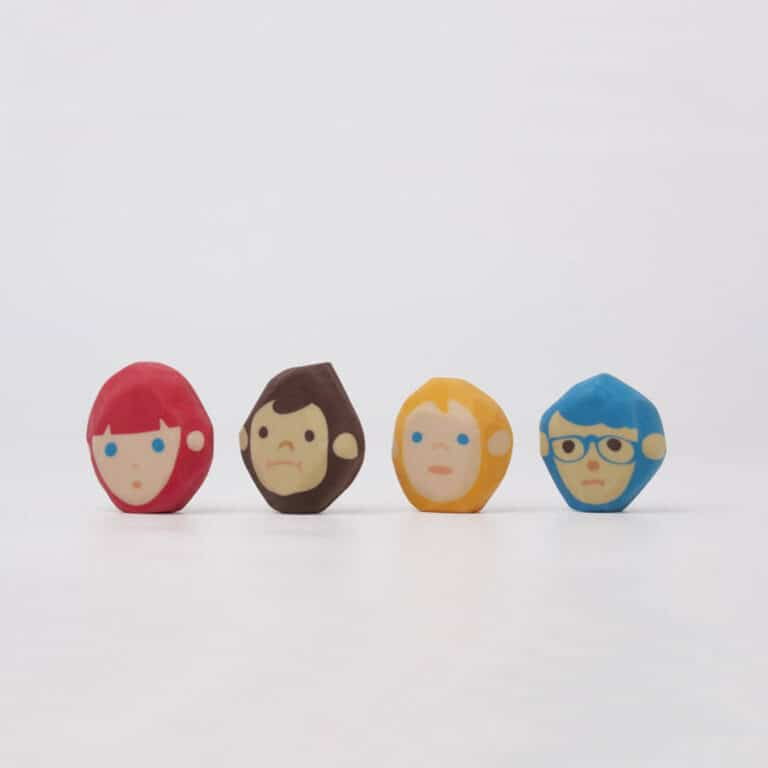 Megawing Rubber Barber Eraser Cute Office GIft Idea