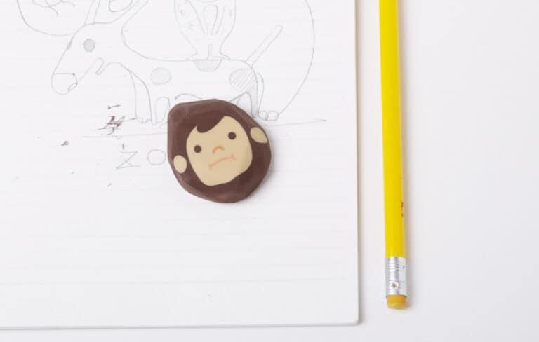 Megawing Rubber Barber Eraser Playful Product For Kids