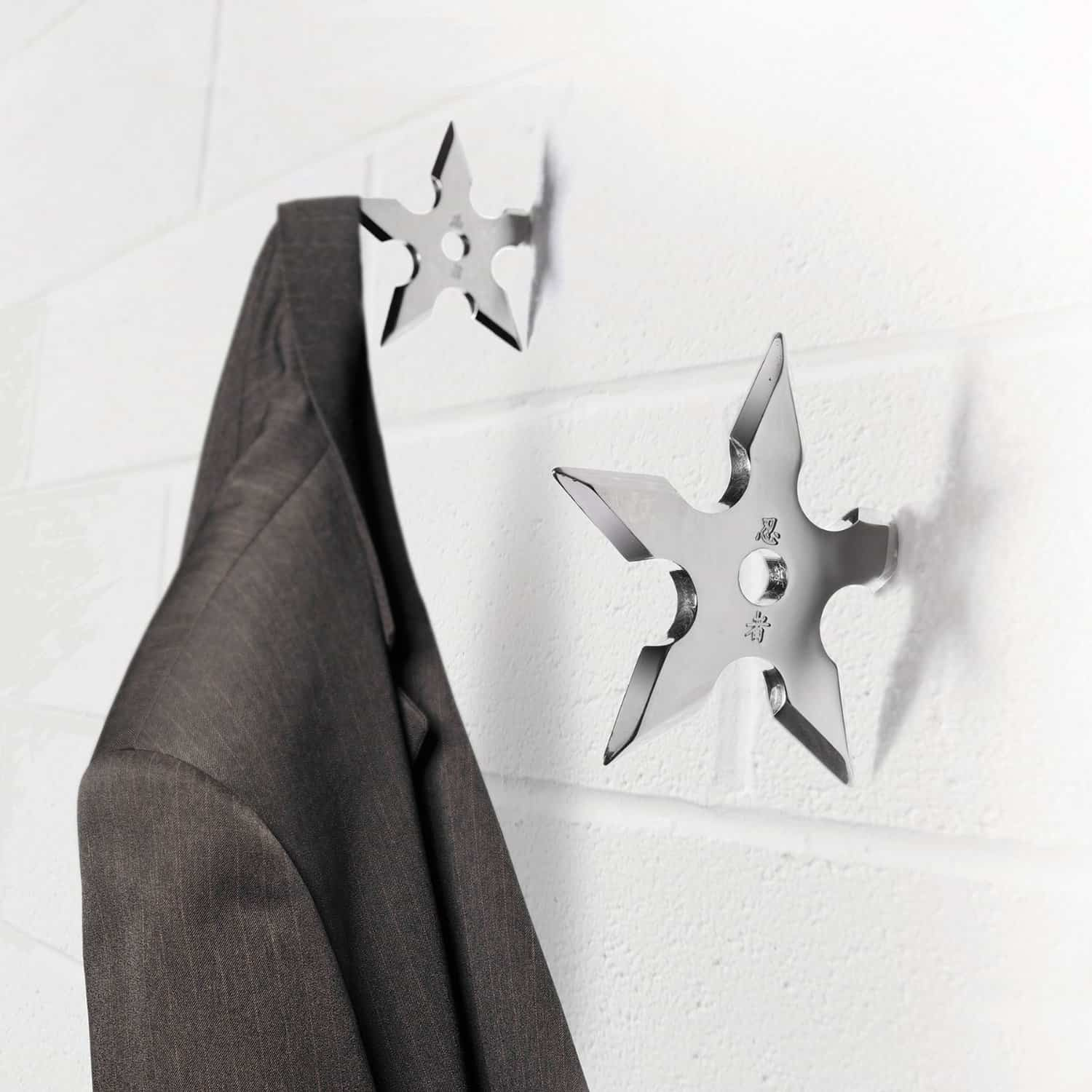 Ninja Coat Hook Fancy Stuff Man Cave Design