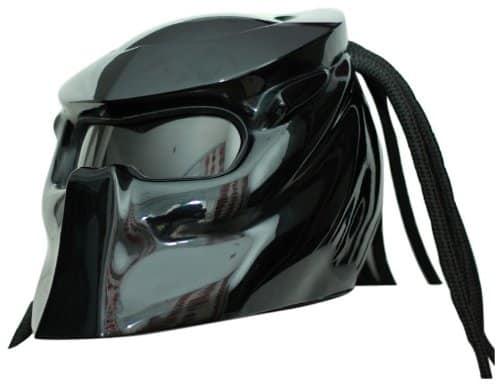 Predator Motorcycle Helmet X1 Black Sick Gear