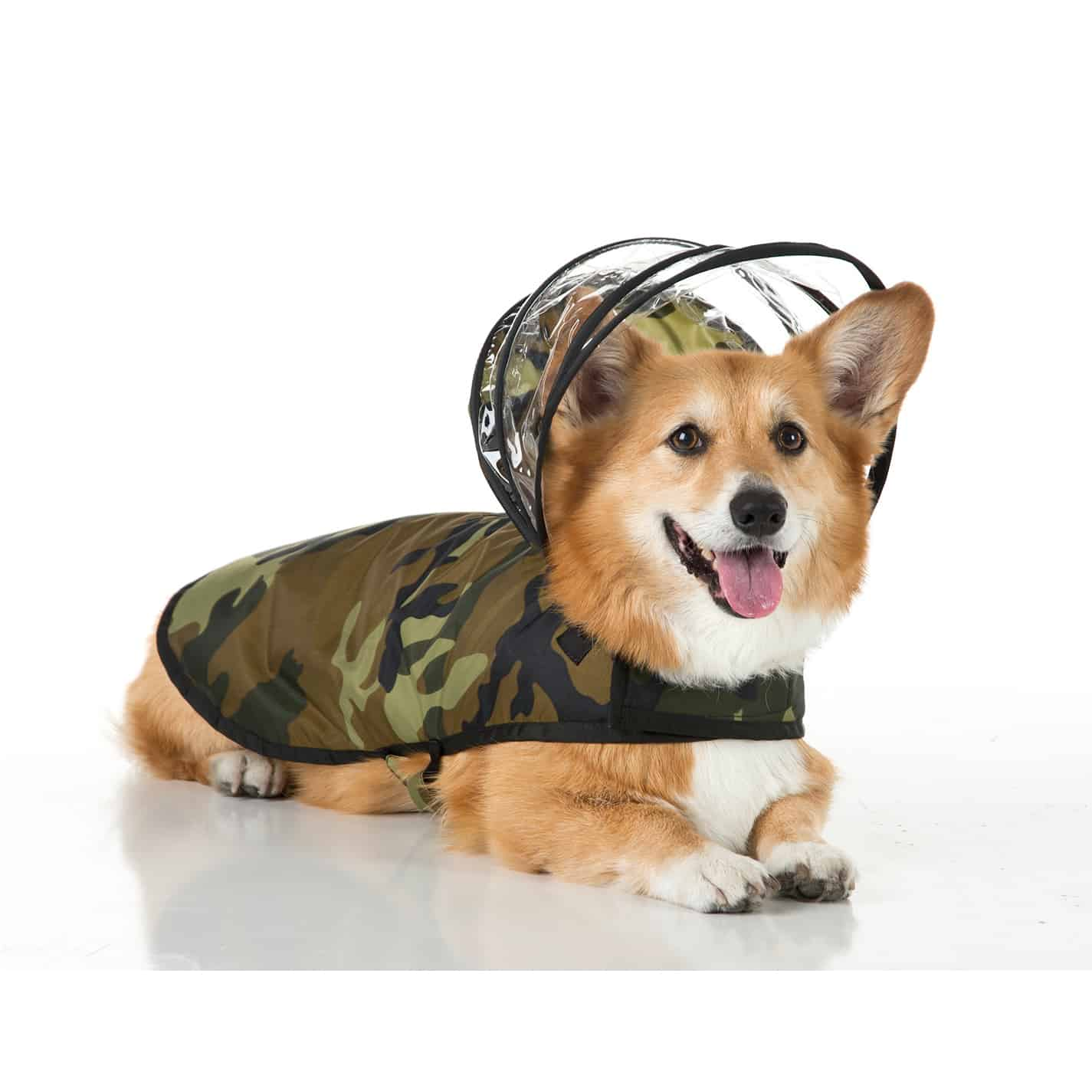 Push Pushi Rainbow Dog Raincoat Doglover Gift Army Green Camo Military Dog Costume