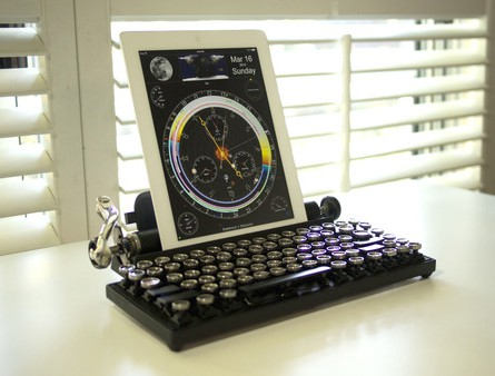 Qwerkywriter USB Keyboard Compatible with Ipad Portrait Mode Interesting Ideas