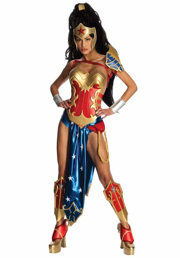 Secret Wishes Wonder Woman Costume (Ame-comi Heroine Version)  Sexy Cosplay For Her DC Comics