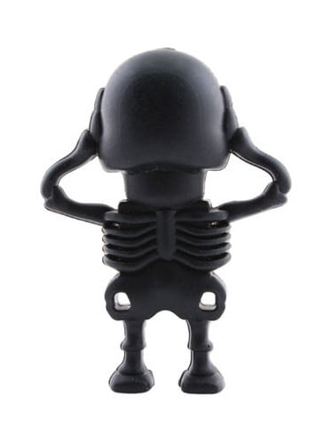 Skeleton Flash Drive Cute Rear Anatomy