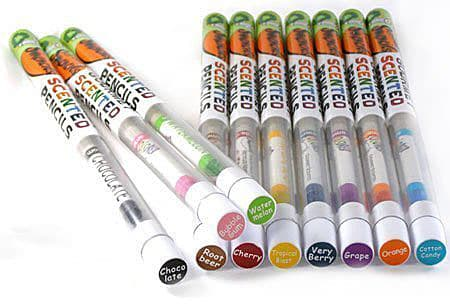 Smencils-Gourmet-Scented-Pencils Cool Gift for Writers