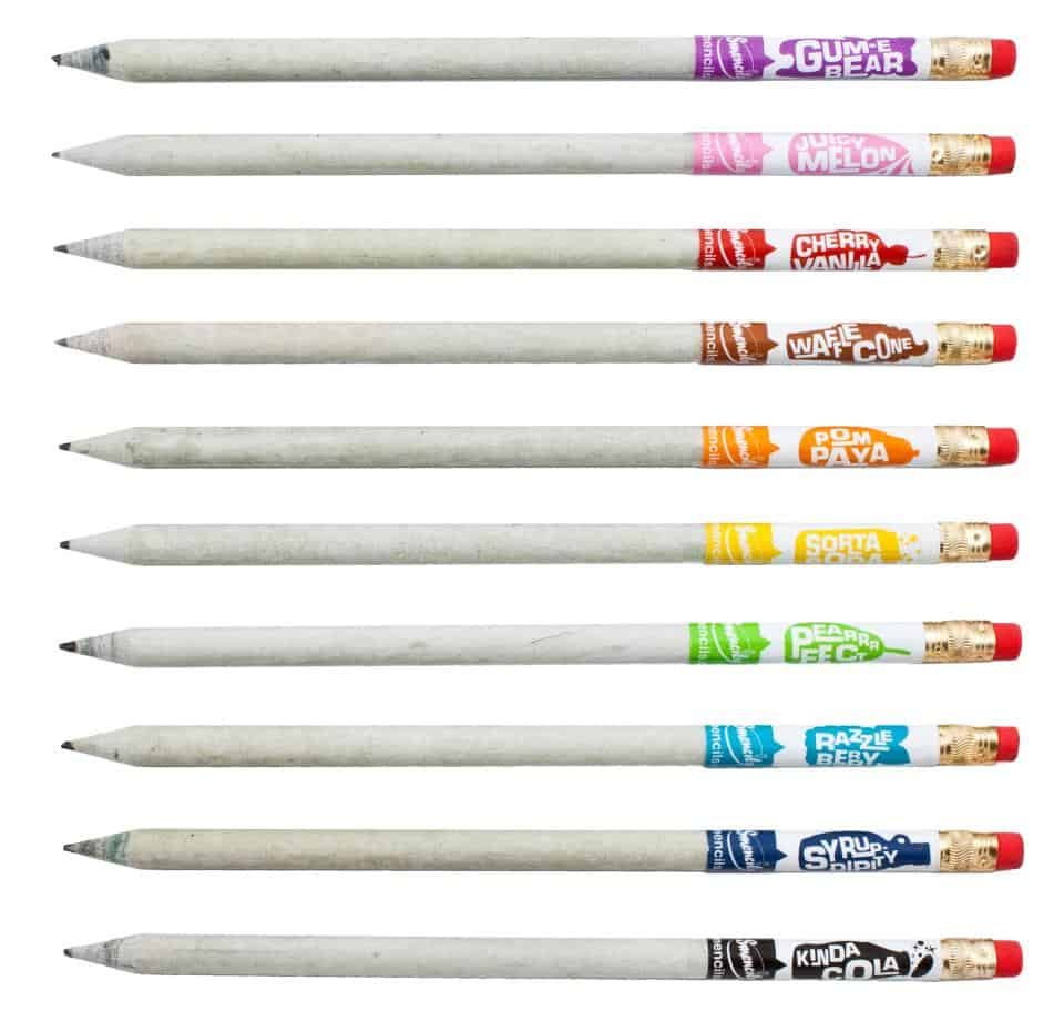 Smencils-Gourmet-Scented-Pencils Novelty Gift Idea