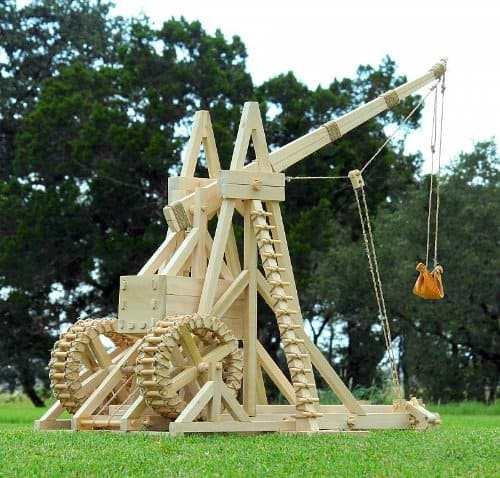 Stirling Warwolf Trebuchet Fully Working Siege Weapon Toy Kit