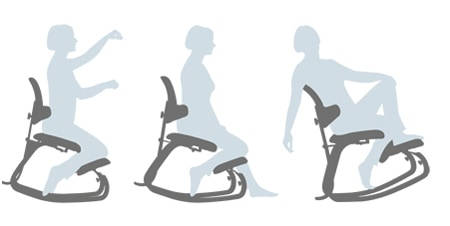 Thatsit Balans Chair Ergonometric Furniture Active Sitting Move Freely
