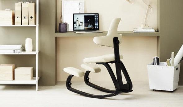 Thatsit Balans Chair Ergonometry Comfy Chair Cool Stuff to Buy Black and White