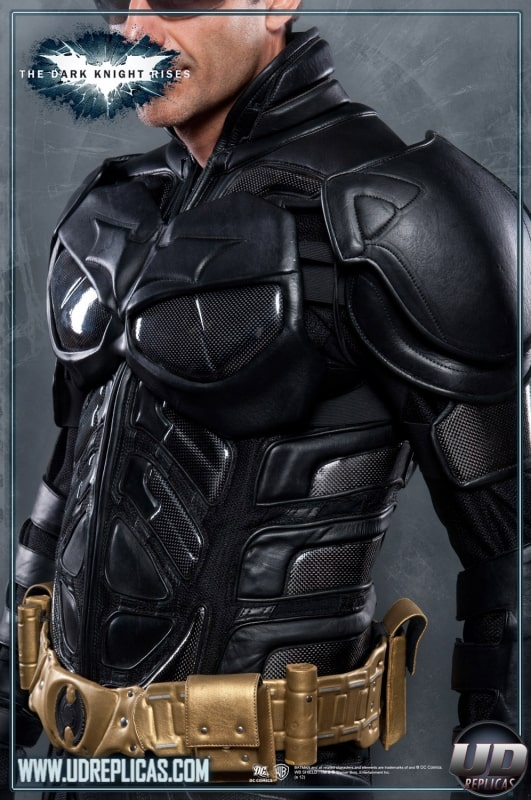 The Dark Knight Rises Batman Motorcycle Suit Jacket Accident Protection Be Safe and Look Cool Utility Belt