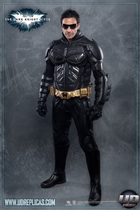 The Dark Knight Rises Batman Motorcycle Suit Jacket Cosplay Black Kevlar Leather Badass Costume