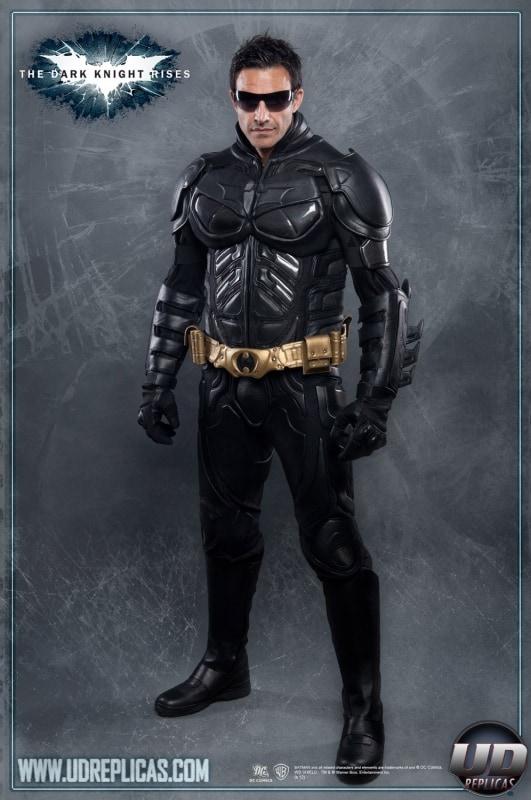The Dark Knight Rises Batman Motorcycle Suit Jacket Cosplay Black Kevlar Leather Badass Costume