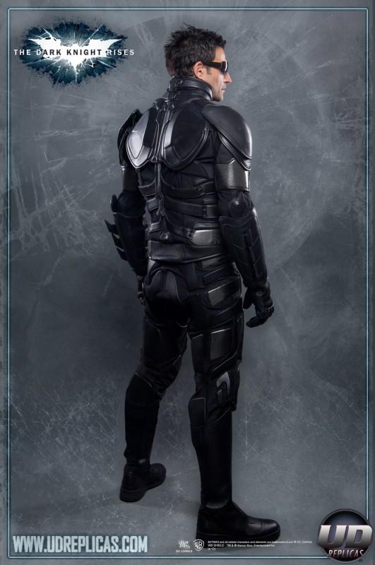 The Dark Knight Rises Batman Motorcycle Suit Jacket Rear View