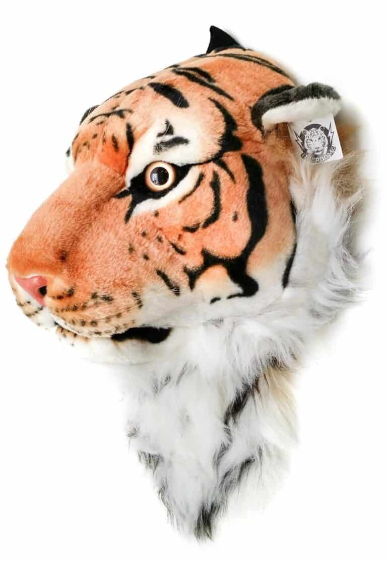 VIAHART Tigerdome Orange Bengal Tiger Animal Head Fun Backpack