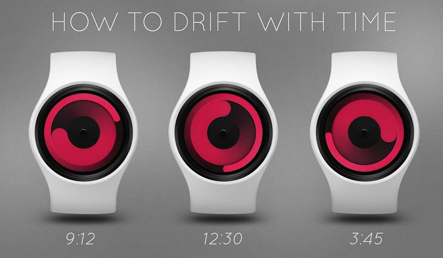 Ziiiro Mercury Gravity Watch How to Tell Time From Rotating Swirls Cool Interesting Product