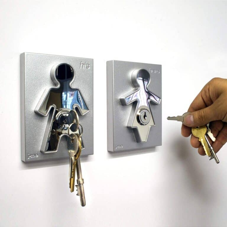 j-me His and Hers Key Holders Featured on Mr and Mrs Smith Movie