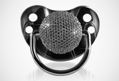 3ct Diamond Pacifier Cool Stuff you Cant Buy