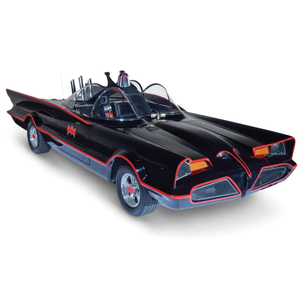 Authentic 1966 Batmobile TV show Replica Vintage Porps Car