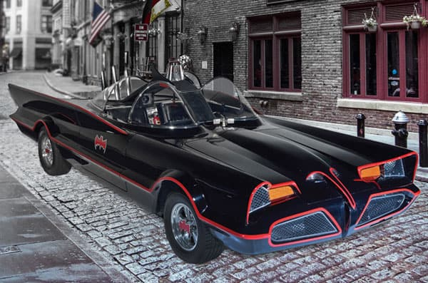 Authentic-1966-Batmobile-TV-show-Replica-Vintage-Props-Cool-Car