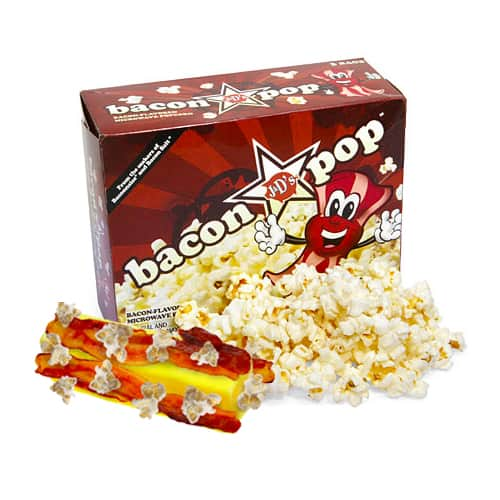 Bacon Flavored Microwaveable Popcorn Box Tasty Delight