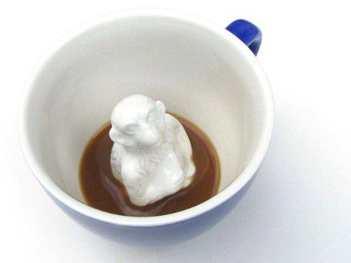 Creature Cups Ceramic Mug  Monkey Coffee Business