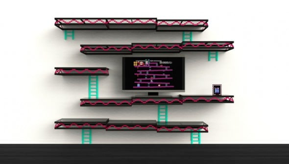 Donkey Kong Wall Geek Interior Design