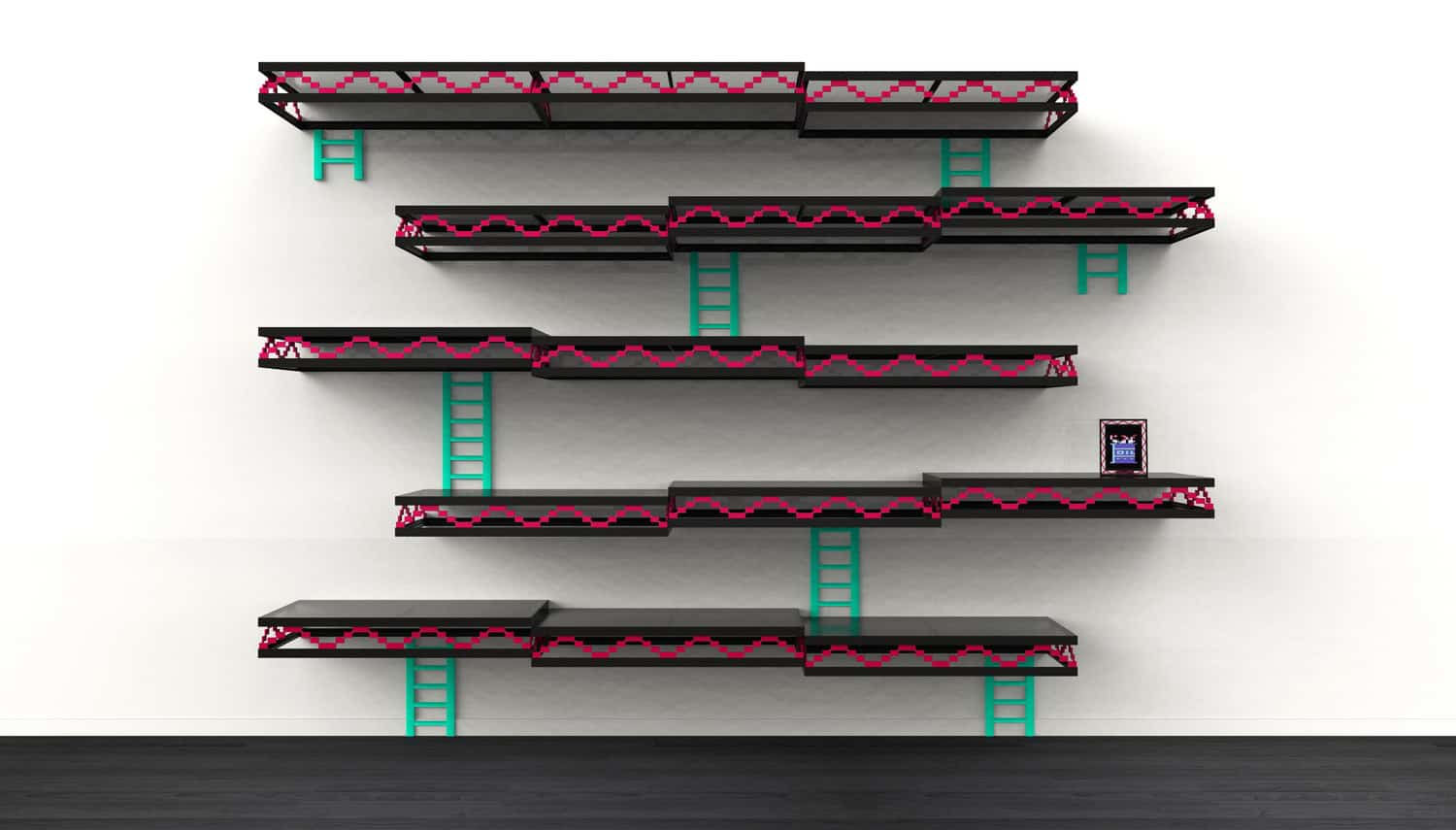 Donkey Kong Wall Stage where Mario First Appeared