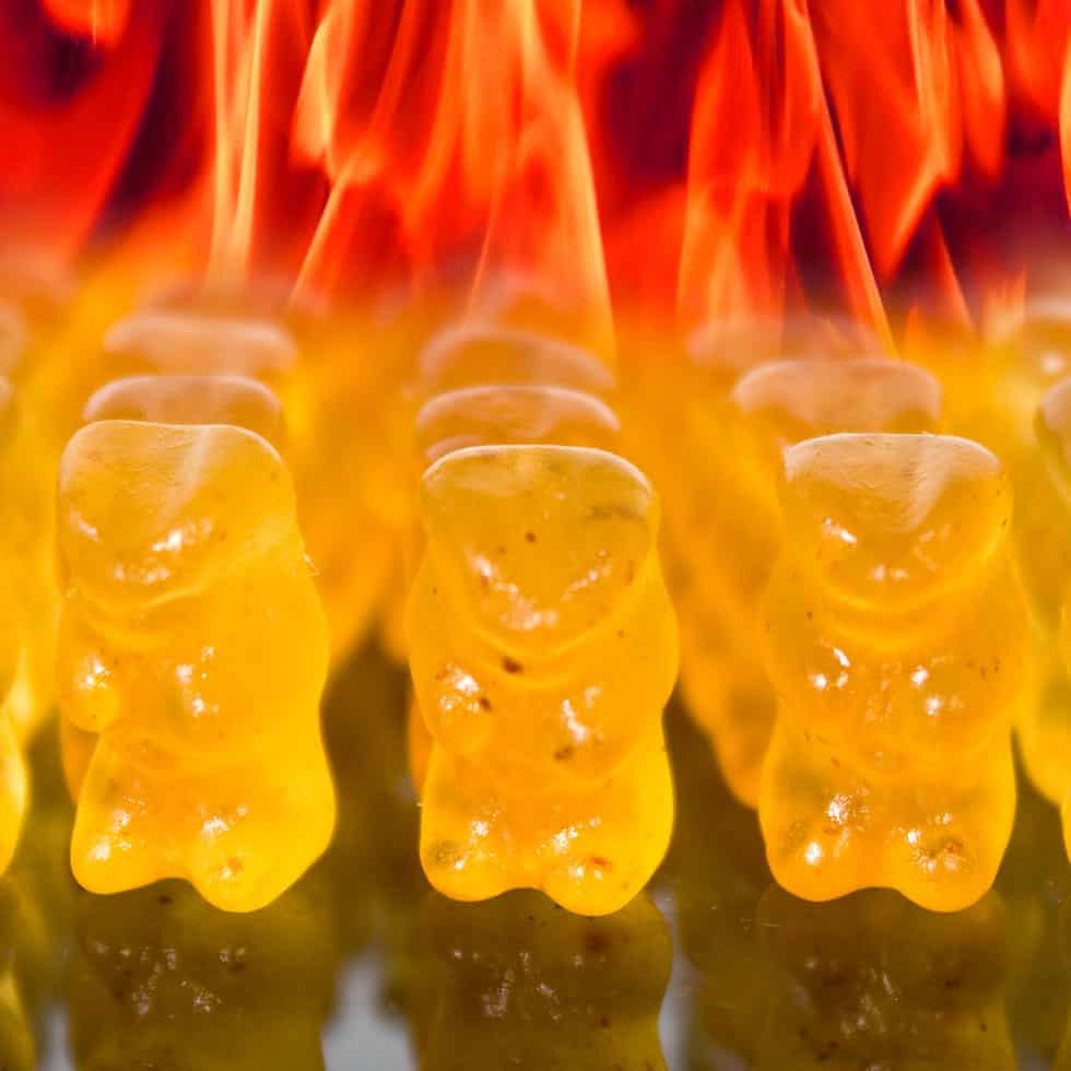 The devil reincarnated in gummi bear form.