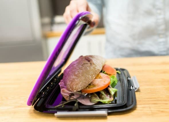 Use a flexible lunchbox to get more room in you bag.