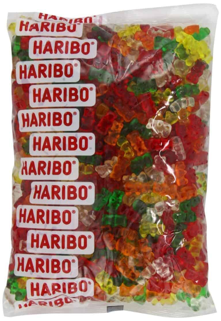 Haribo Sugar Free Classic Gummi Bears 5 LBS Sugarless Gummy Candy