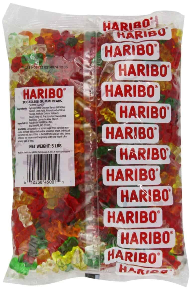 Haribo Sugar Free Classic Gummi Bears Laxative Effect Warning