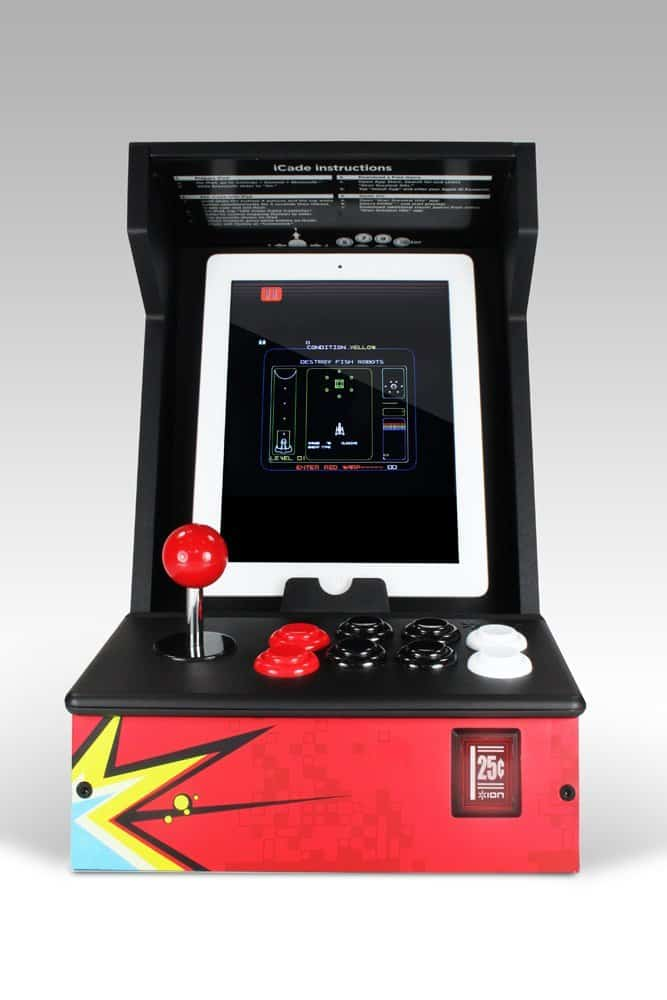ION iCade Arcade Cabinet for iPad Old School Controller for IOS and Android Device