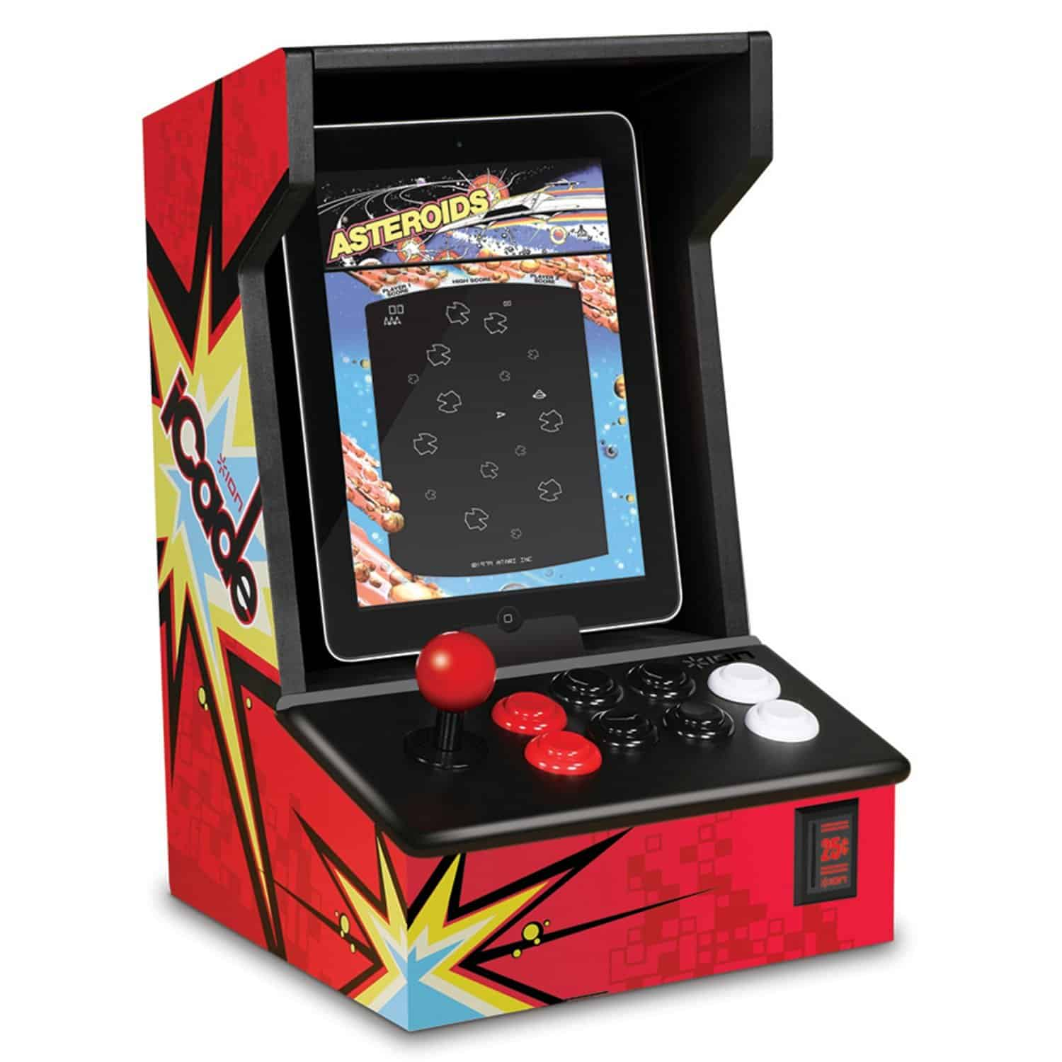 ION iCade Arcade Cabinet for iPad Play Retro Games Cool Gift Idea