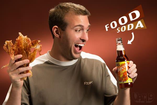 Lesters Fixins Food Sodas Bacon Soda Gag Gift