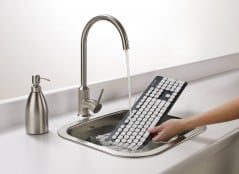 Dirty keyboard? Throw it in the sink!