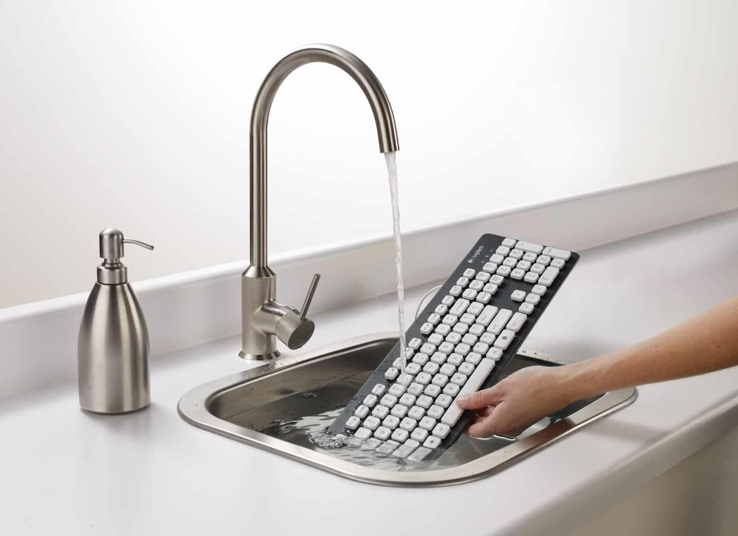 Logitech Washable Keyboard Interesting Product Waterproof Gadget