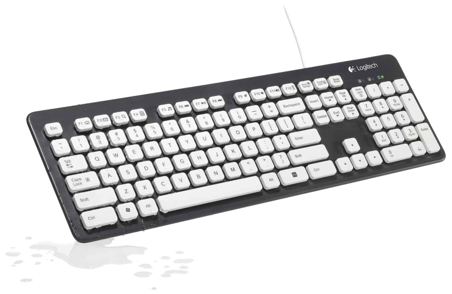 Logitech Washable Keyboard Spill Proof Device