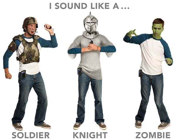 Sound effects that will make your costume better than the rest.
