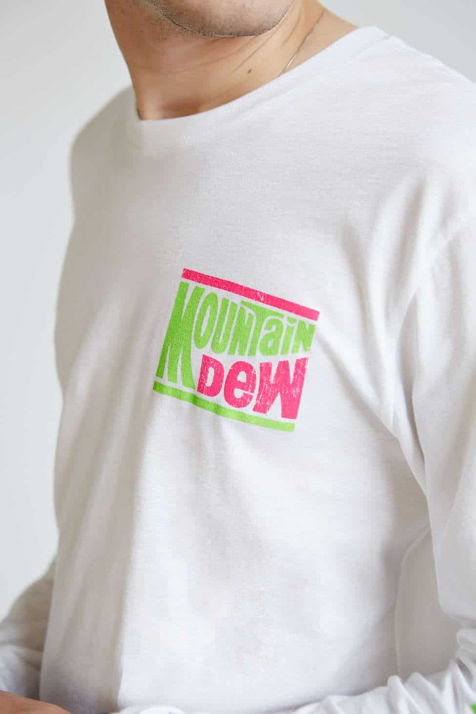 Mountain Dew Long-Sleeve Tee Hipster Style