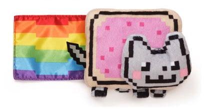 Nyan-Cat-6-inch-Plush-with-Sound-Cute-Rainbow-Feline-Meme-Stuff-Toy-Gray