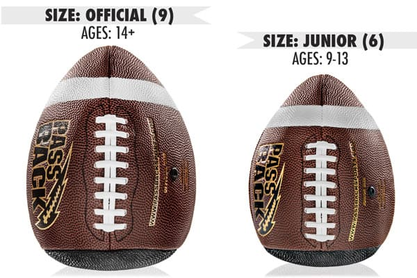 PassBack Training Football Official and Junior Sizes