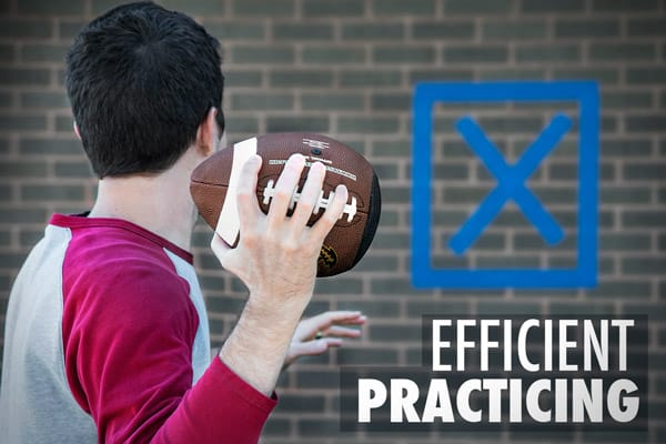 PassBack Training Football for efficient Practicing