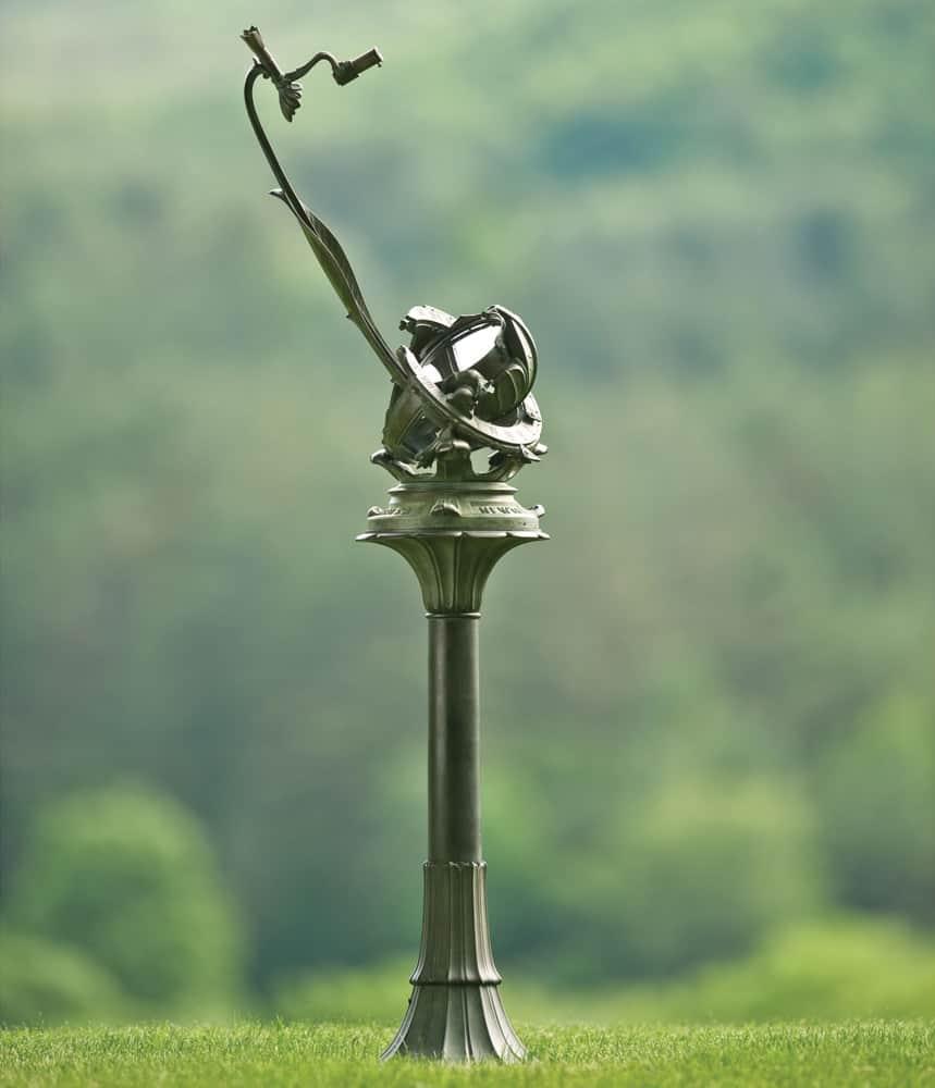 Porter Garden Telescope Art Nouveau Replica Outdoor Fixture